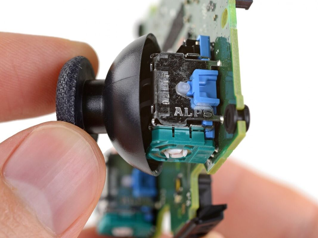 kontrolery PlayStation 5, problem dryfowania DS5,
