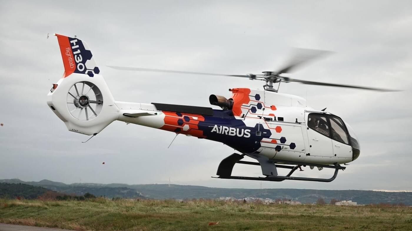 latające laboratorium Airbusa, testy AIrbus