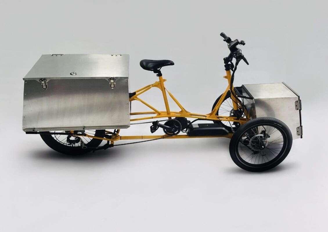 Elektryczne trójkołowce MX3 Cargo System przewiozą wiele