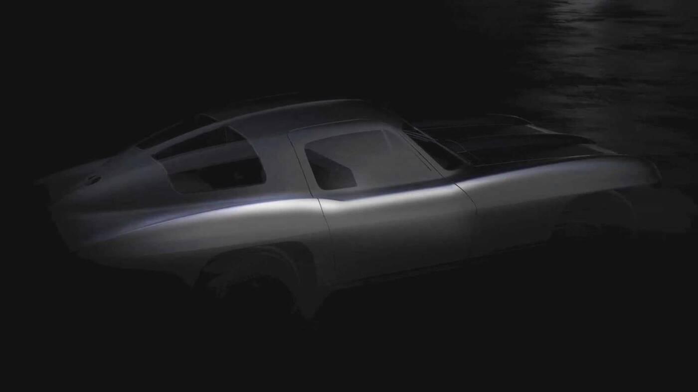 Elektryczny samochód sportowy Ava