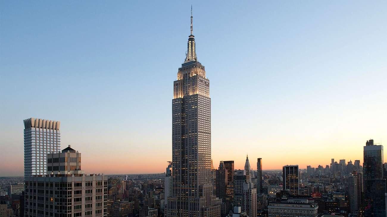 Empire State Building w pełni zasilany wiatrem. Wykonano kolejny krok