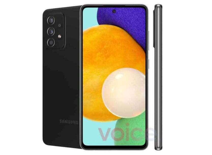 Tak wygląda Samsung Galaxy A52 5G