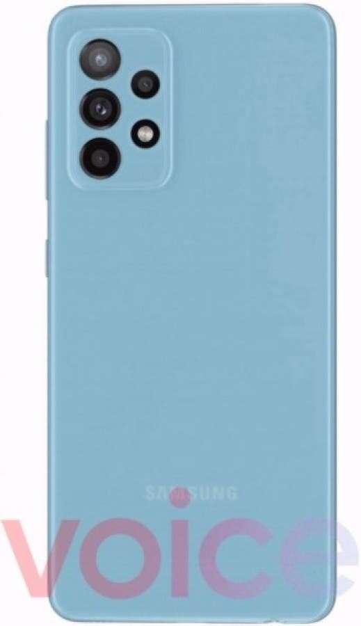 rendery samsung Galaxy A52 5G