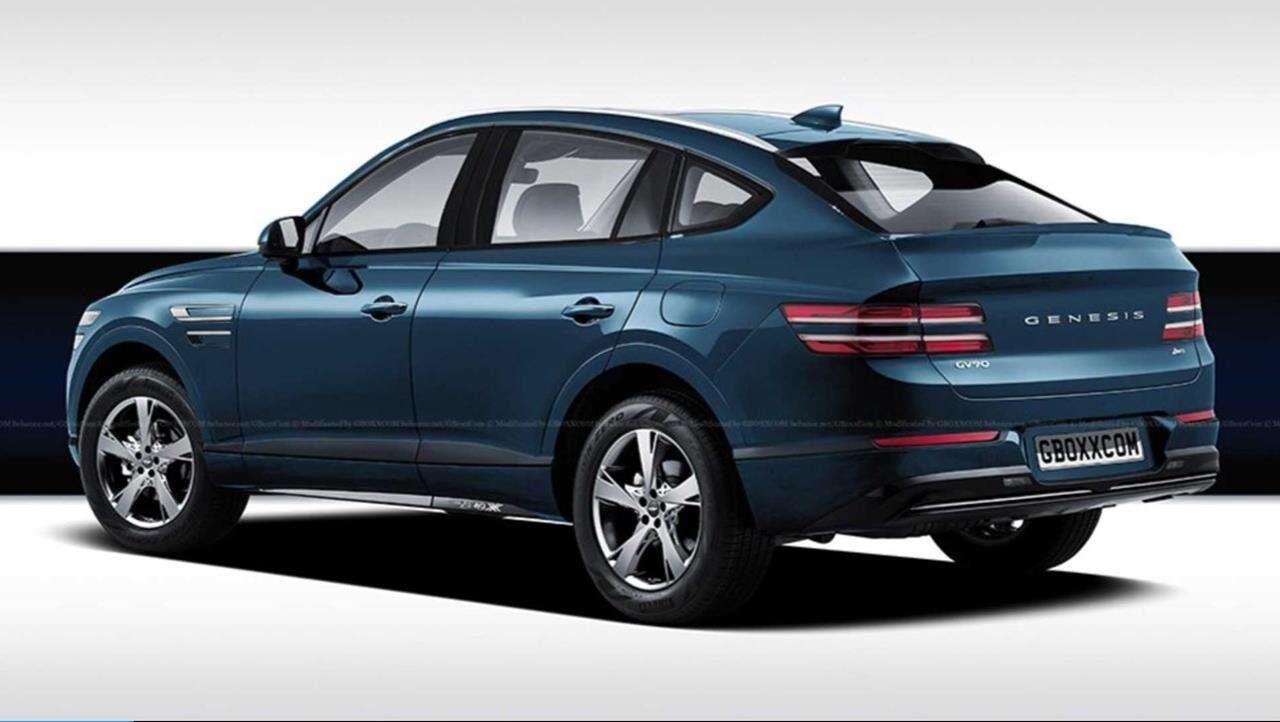 Genesis GV80 Coupe i BMW X6 pójdą w szranki