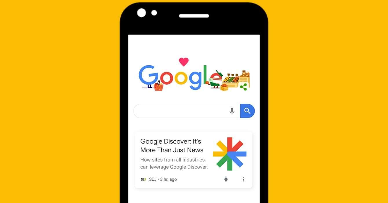 Google Discover z mniejszym widżetem pogody - zmiana na plus