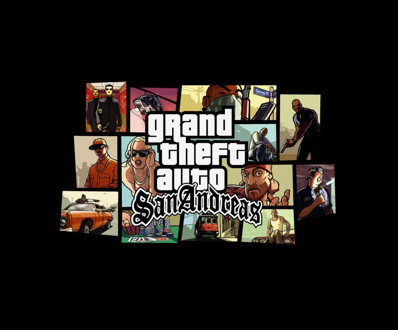 Grand Theft Auto San Andreas HD! Sztuczna inteligencja ulepszyła dawny hit