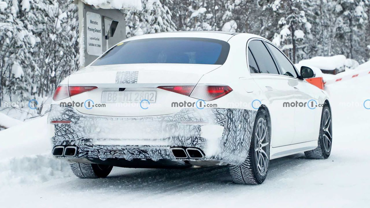 Hybrydowy Mercedes-AMG S63e na zdjęciach, Hybrydowy Mercedes-AMG S63e, Mercedes-AMG S63e