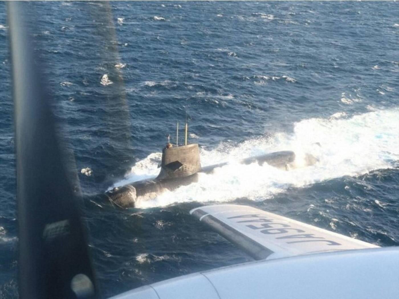 Japoński okręt podwodny zderzył