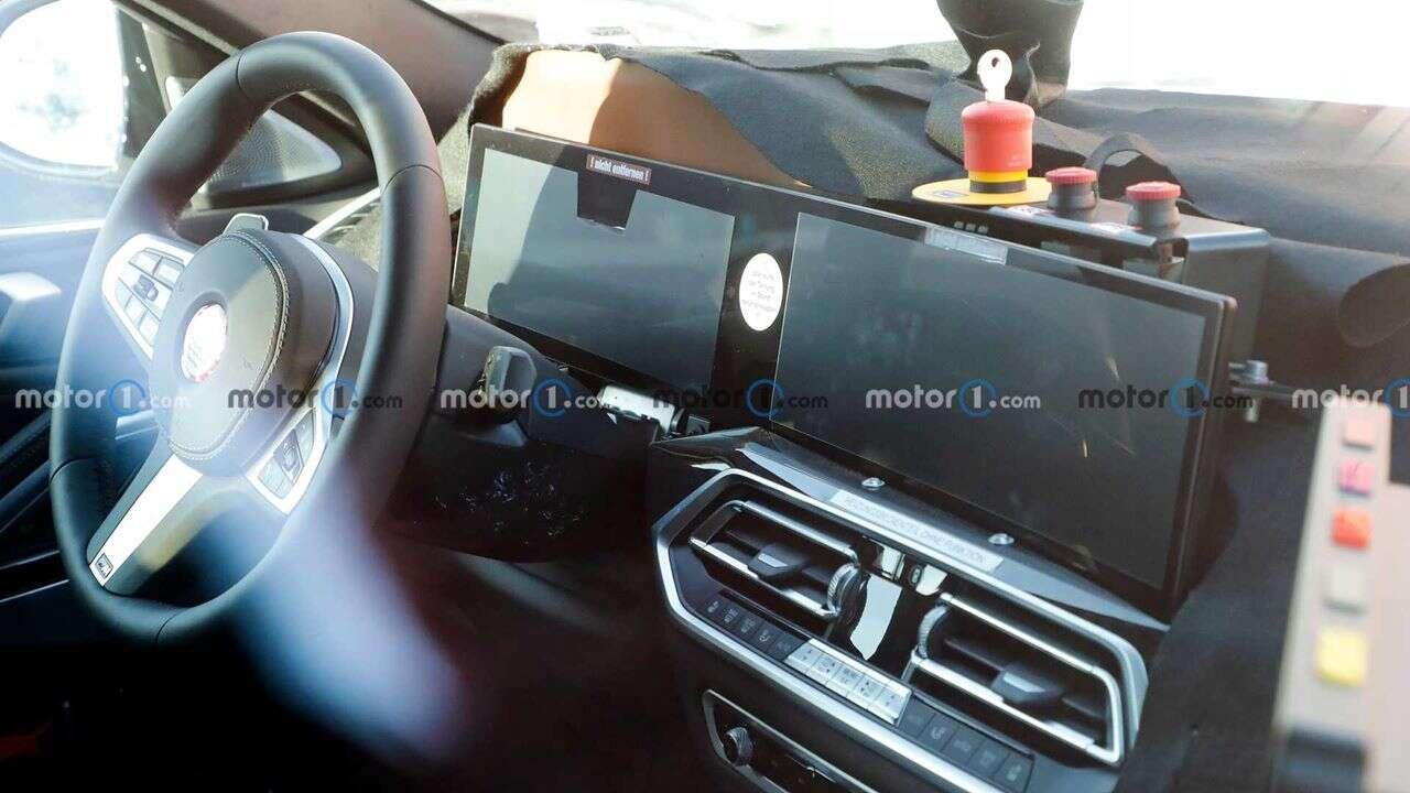 Kabina nowego BMW X6 przejdzie ogromne zmiany