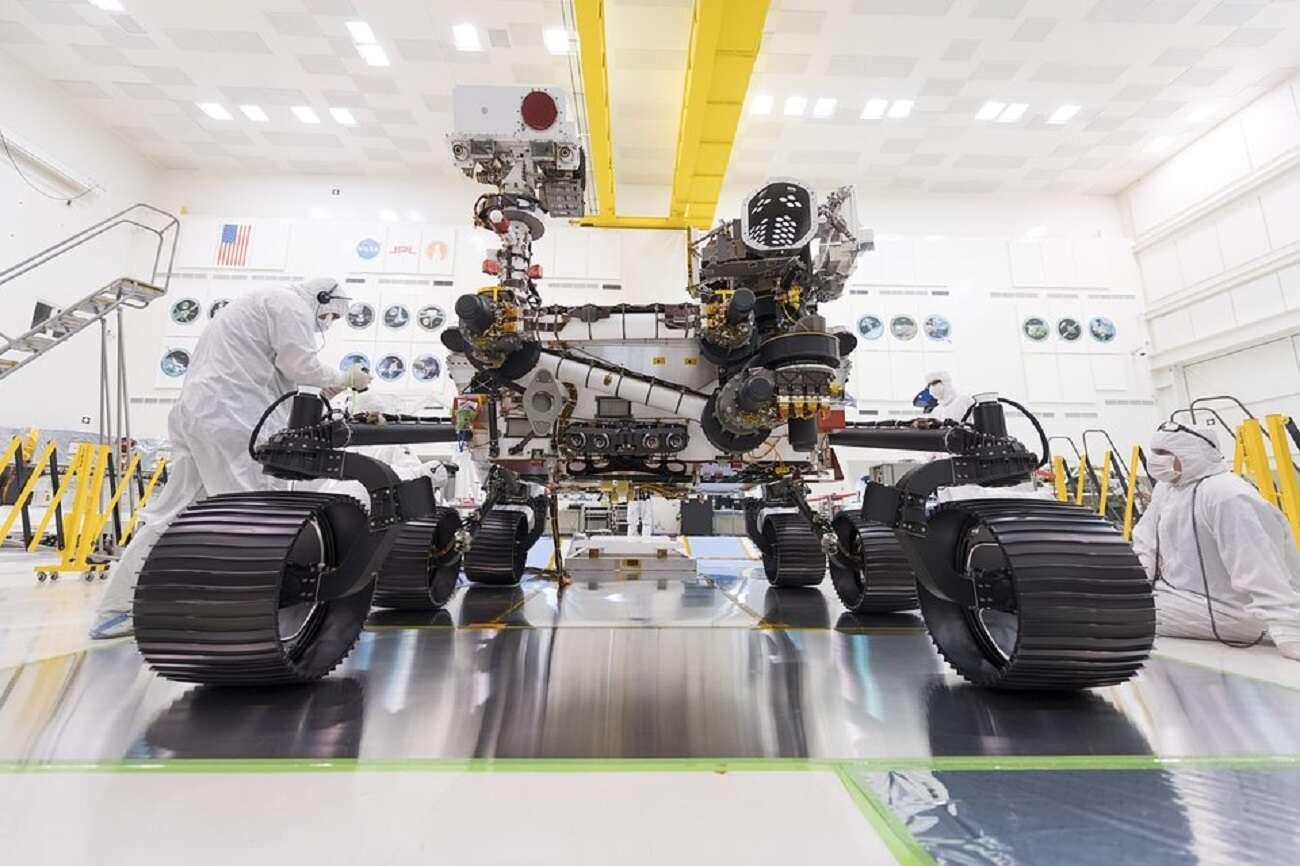 Zobaczcie wideo ukazujące lądowanie na Marsie. Oto łazik Perseverance w akcji