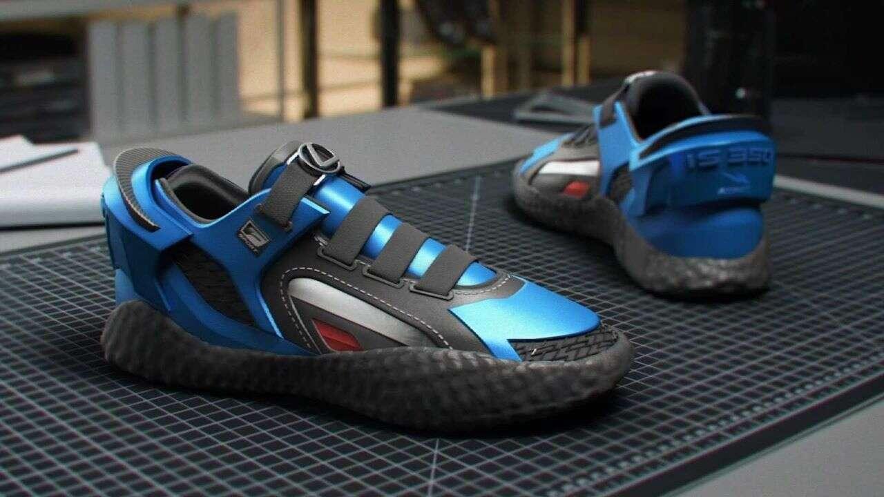 Lexus IS F Sport zainspirował nowe buty RTFKT