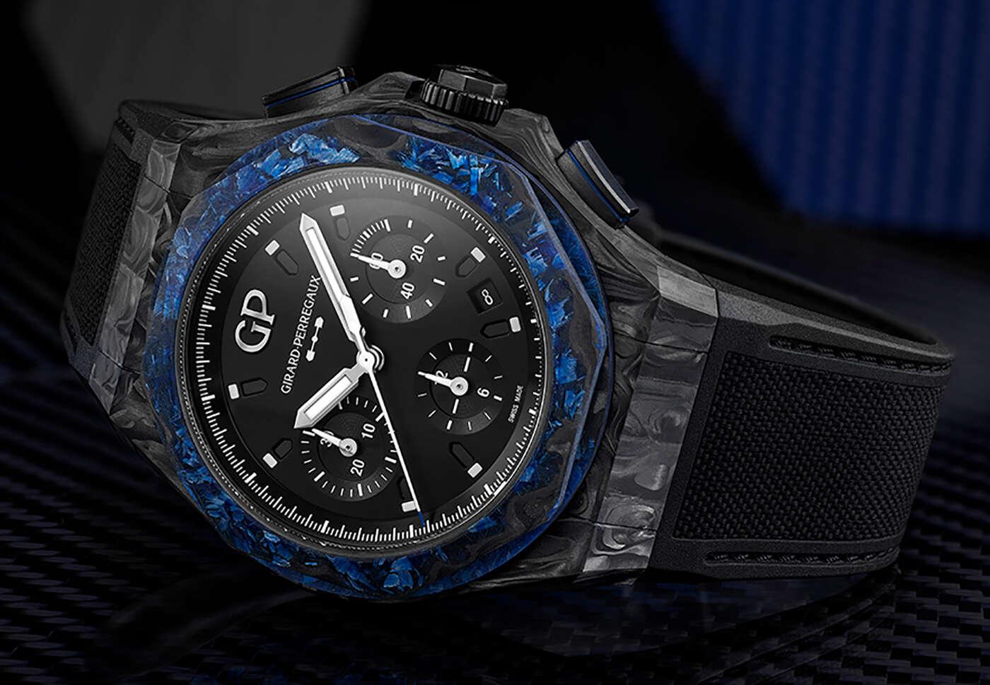 Limitowany zegarek Girard-Perregaux zachwyca futurystyczną kopertą