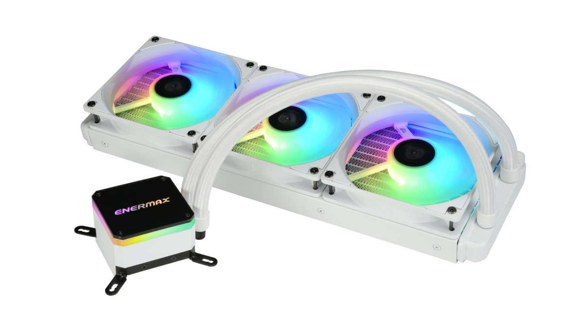 Enermax prezentuje LIQMAX III ARGB 360 w wersji białej