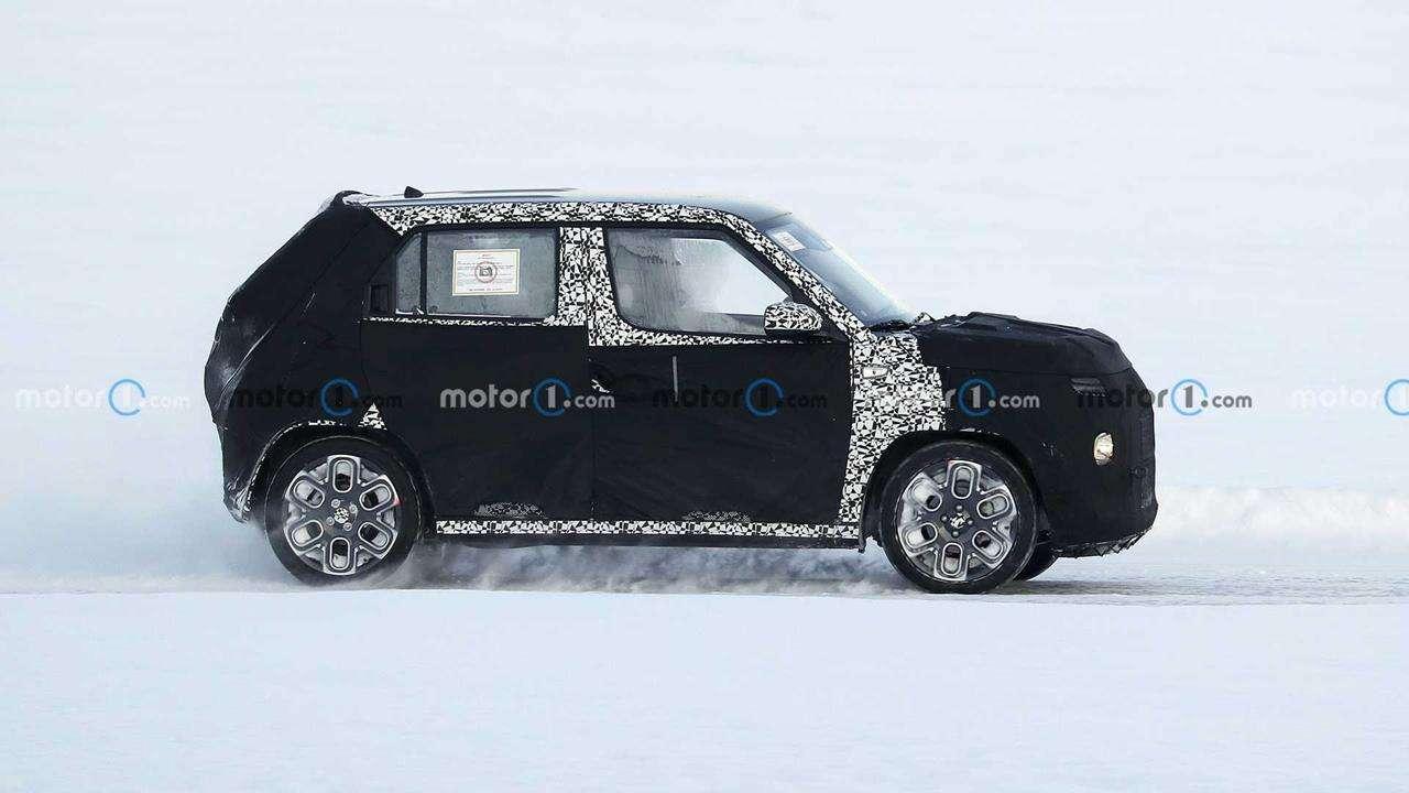 Malutki crossover Hyundai AX-1 wyszpiegowany po raz pierwszy