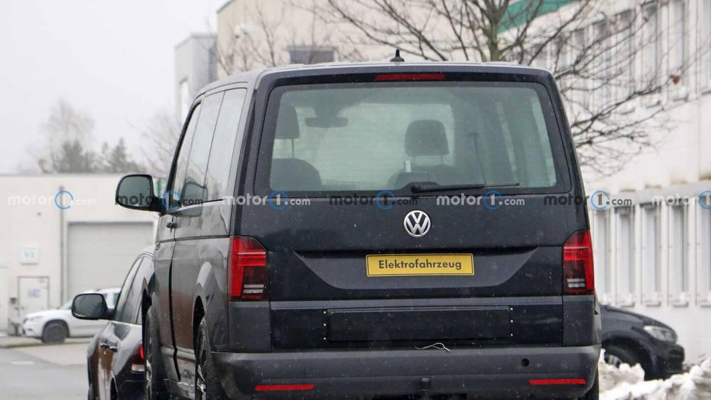 Muł testowy VW ID Buzz, VW ID Buzz, zdjęcia VW ID Buzz
