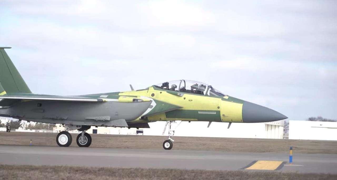 Najnowszy myśliwiec F-15 Eagle Sił Powietrznych USA , Najnowszy myśliwiec F-15 Eagle