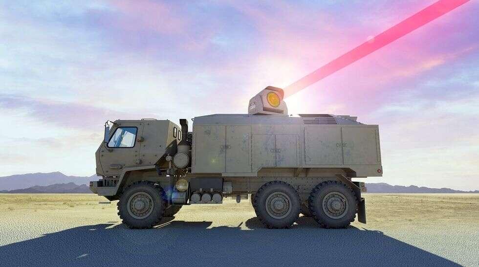 Najpotężniejszy laser na świecie, laser Armia USA