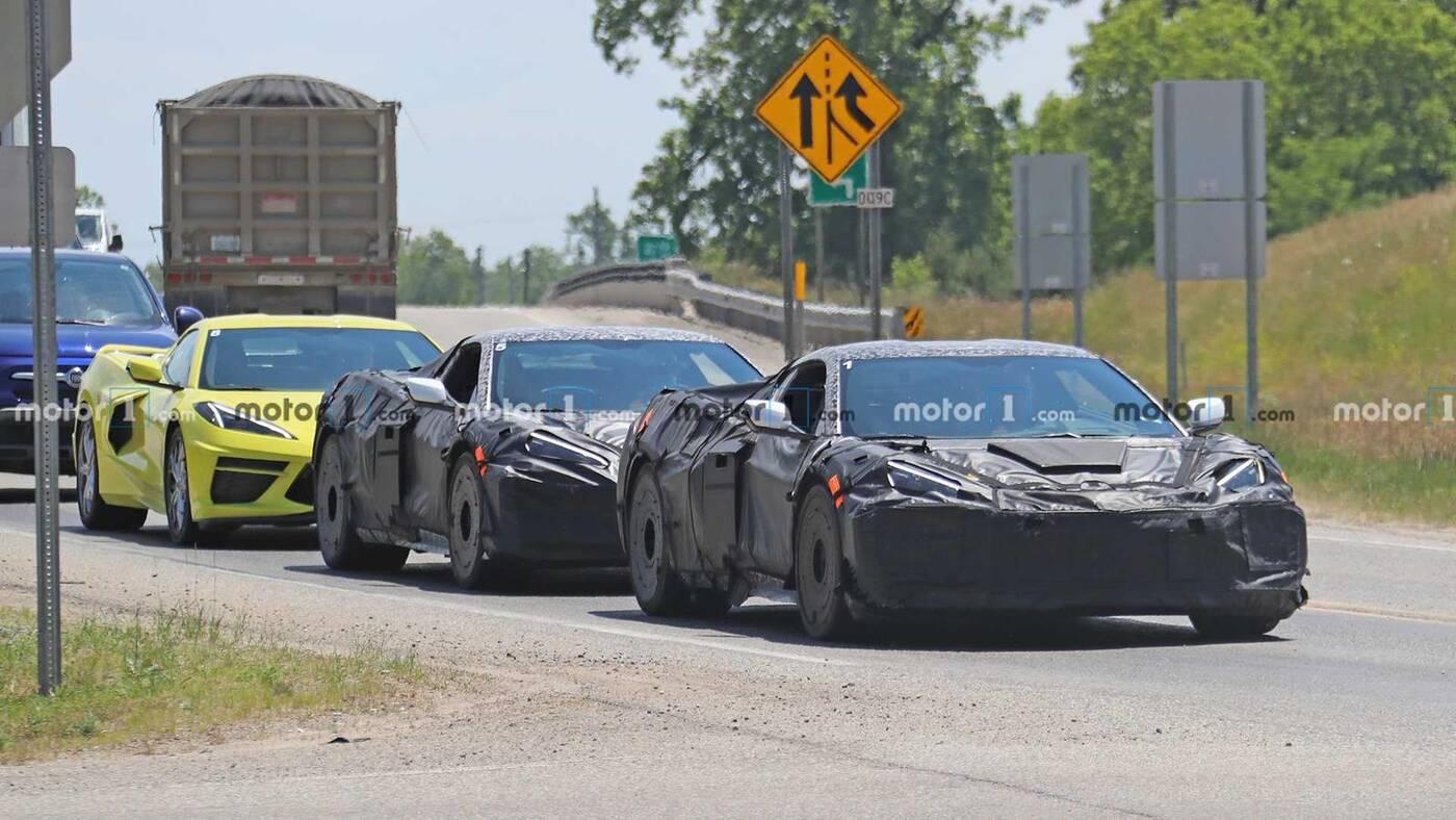 szczegóły nadchodzących modeli Corvette