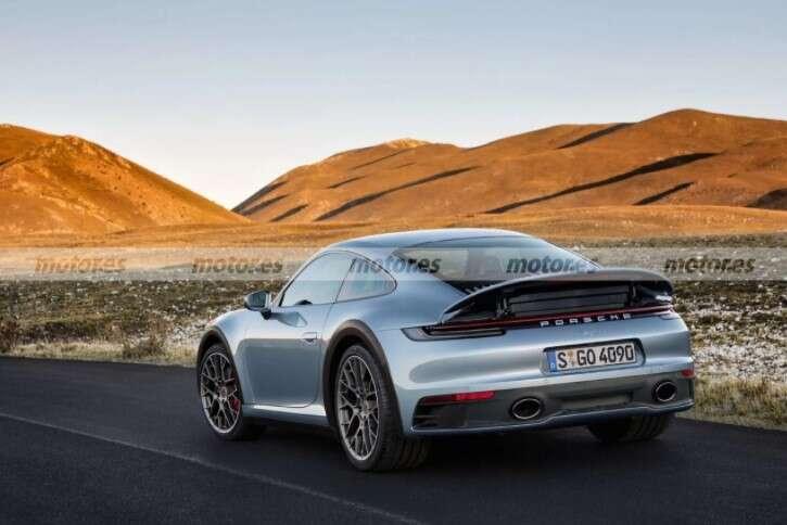 render Porsche 911 Safari