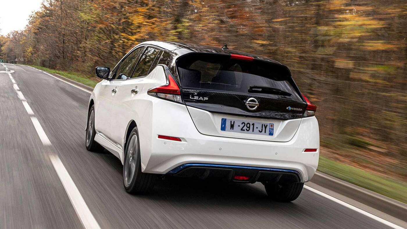 Nissan Leaf10 Special Edition czerpie garściami z modelu Ariya