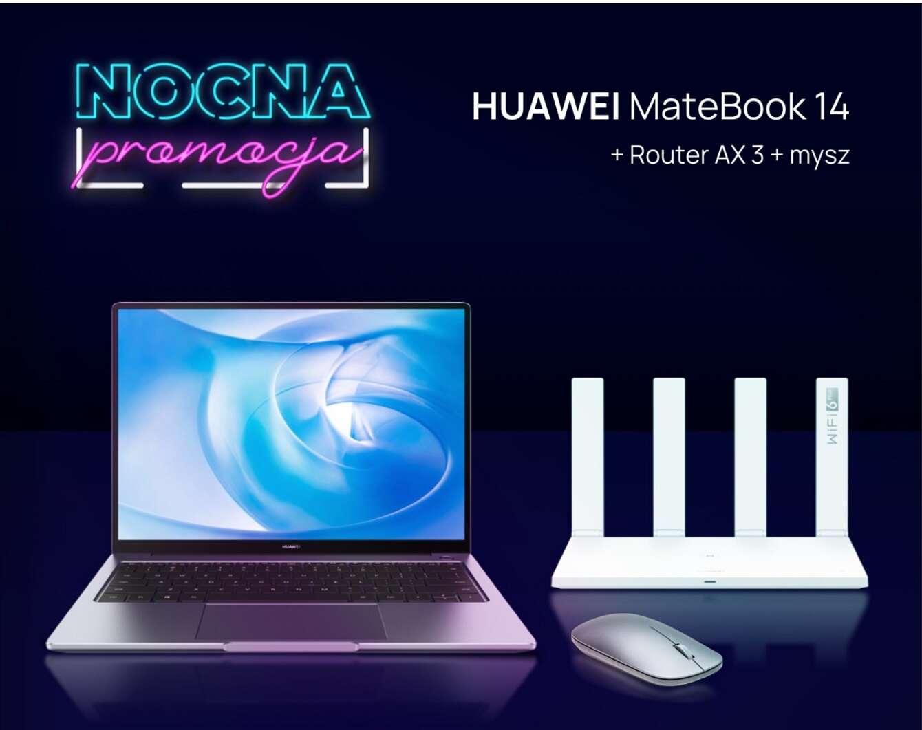 Nocna promocja na huawei.pl: Huawei MateBook 14 w świetnej cenie!