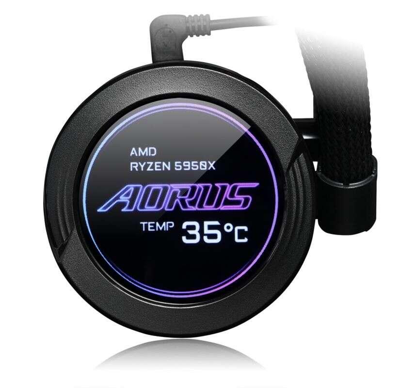 Nowe chłodzenie wodne AORUS WaterForce X od Gigabyte