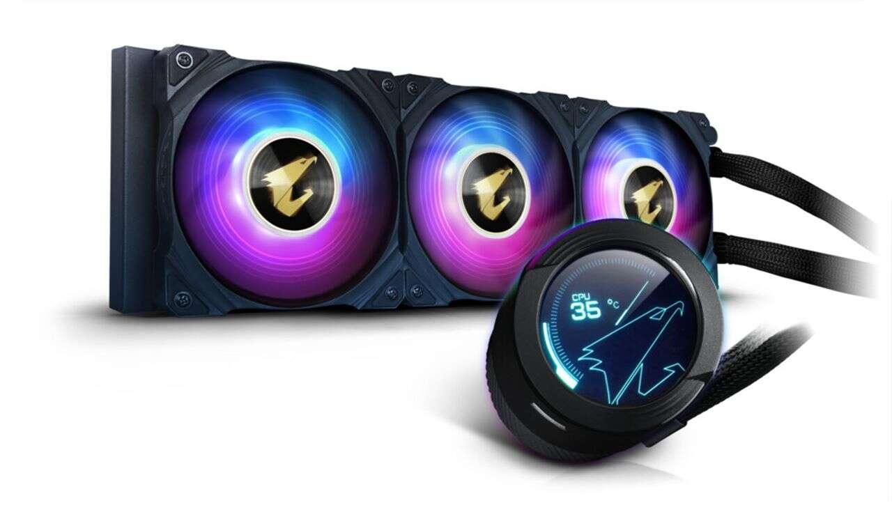 Nowe chłodzenie wodne AORUS WaterForce X, chłodzenie wodne AORUS WaterForce X, AORUS WaterForce X od Gigabyte