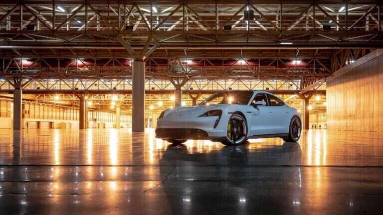 rekord prędkości dla Taycan Turbo S, Taycan Turbo S