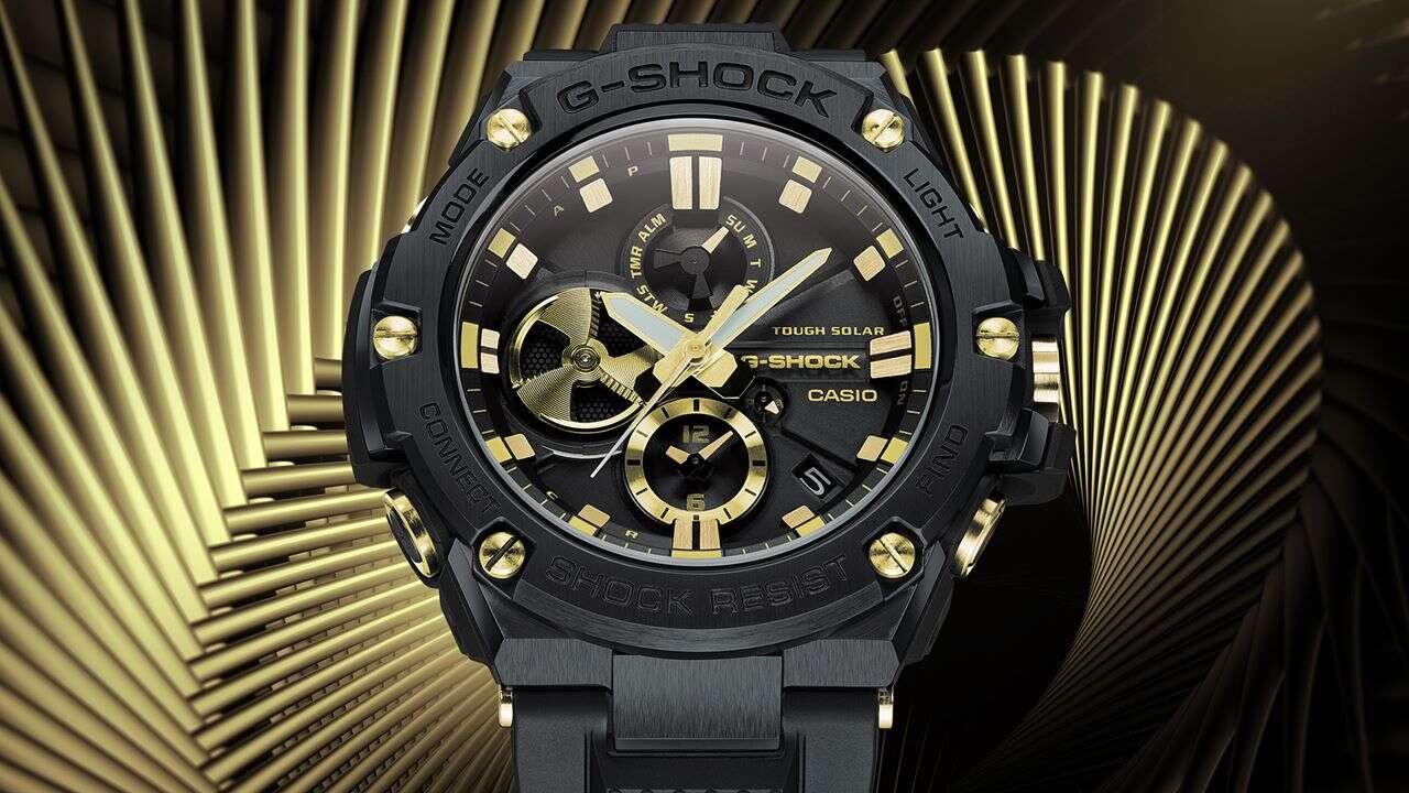 Nowy zegarek G-Shock, G-Steel GSTB100GC-1A, GSTB100GC-1A