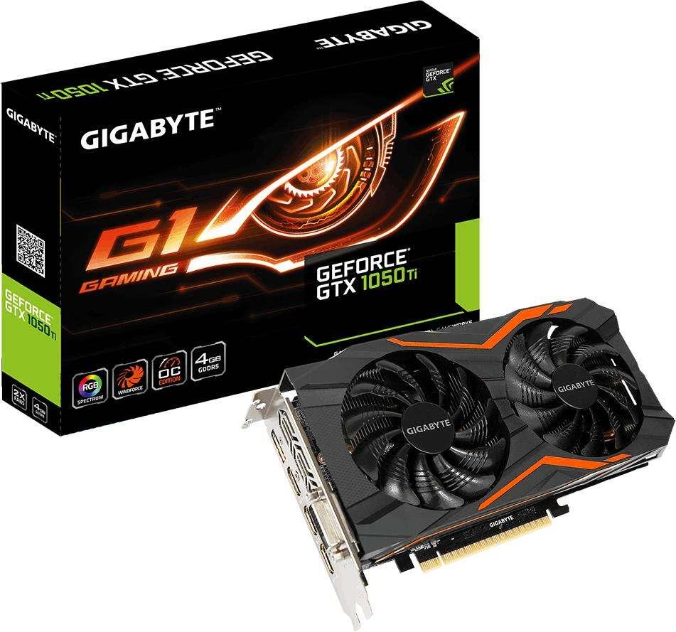 ceny Nvidia GeForce GTX 1050 Ti