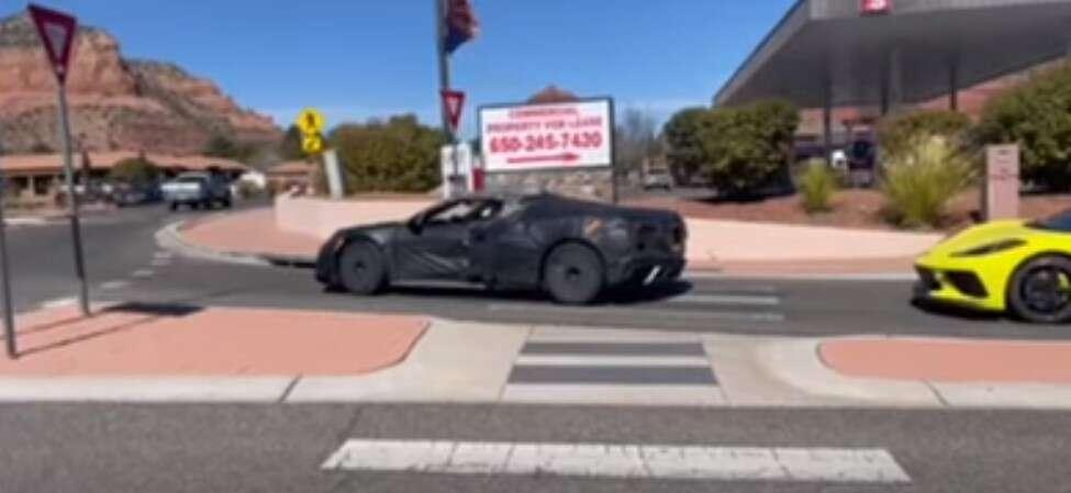testów Corvette Z06 C8, nagranie z testów Corvette Z06 C8, Corvette Z06 C8