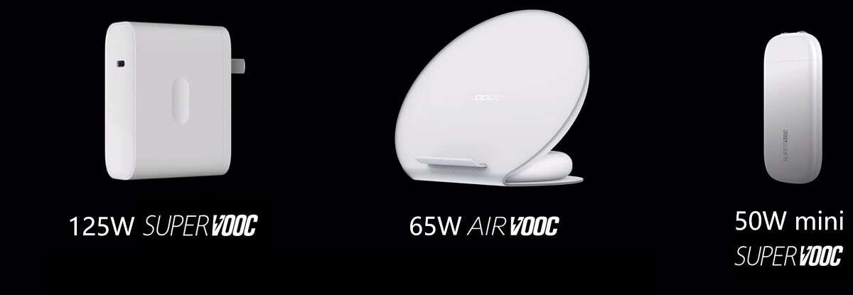 Oppo pokazuje szybkie ładowarki i rozwiązania sieci 5G