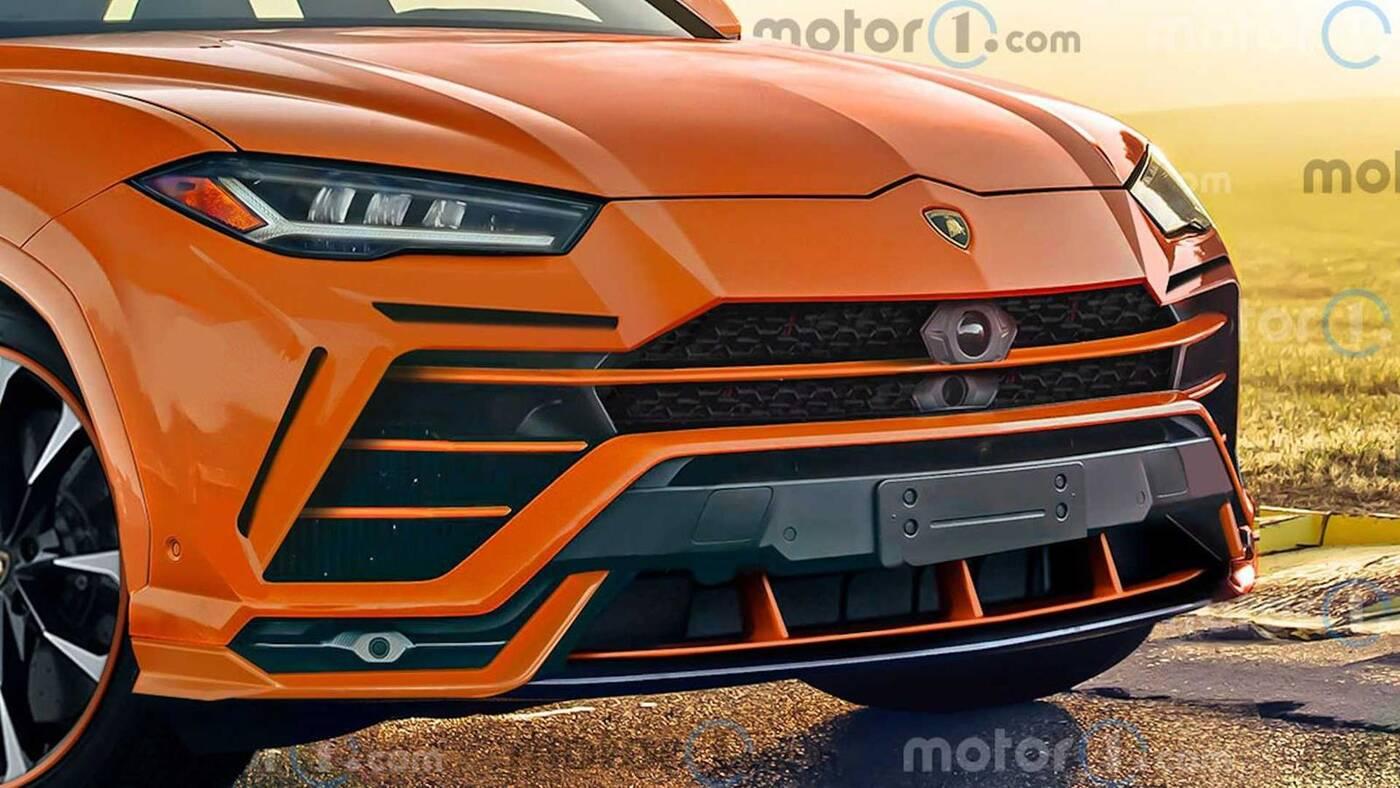 wyglądać Lamborghini Urus EVO, Lamborghini Urus EVO