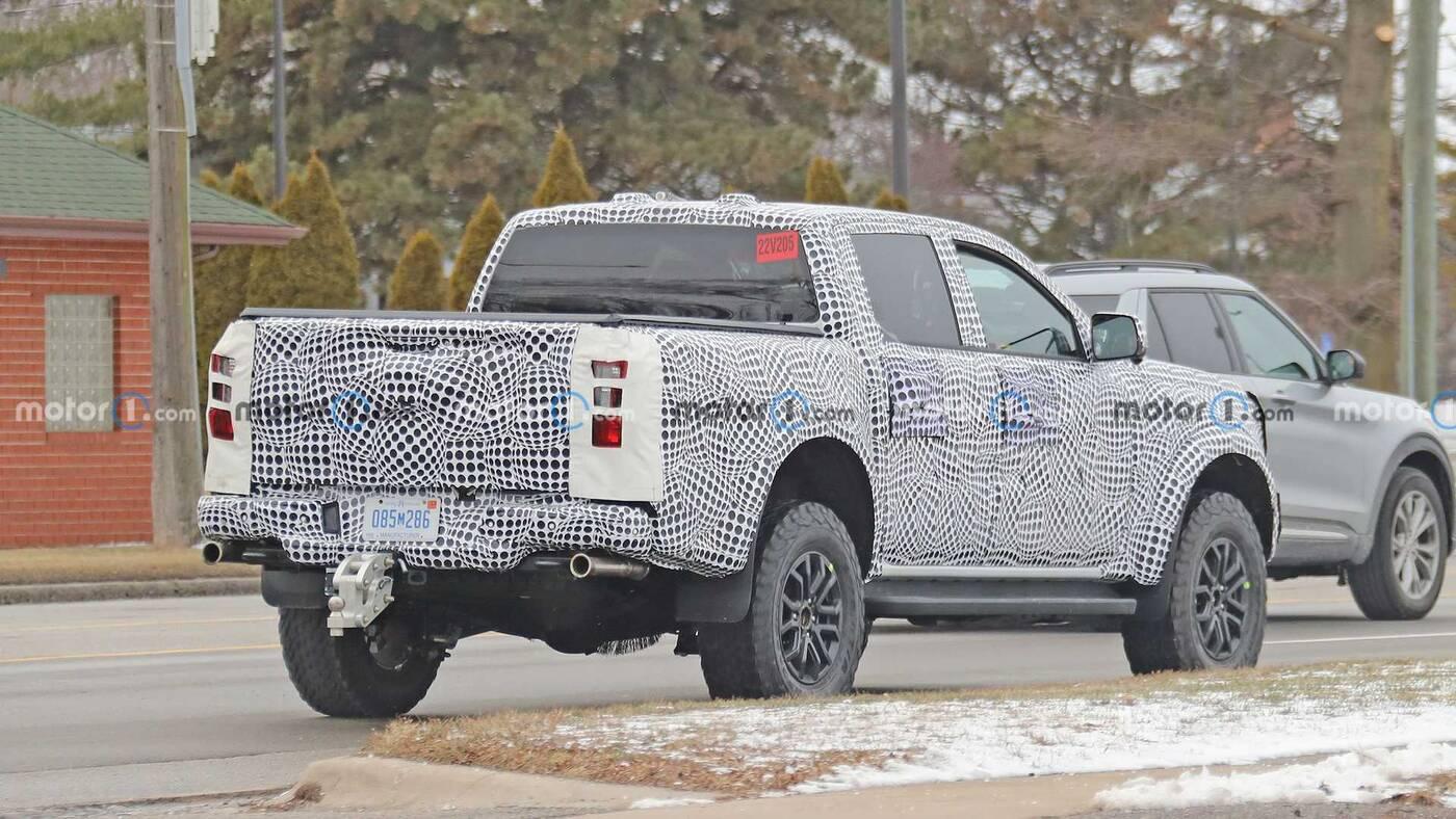 Pierwsze zdjęcia Forda Ranger Raptor nowej generacji