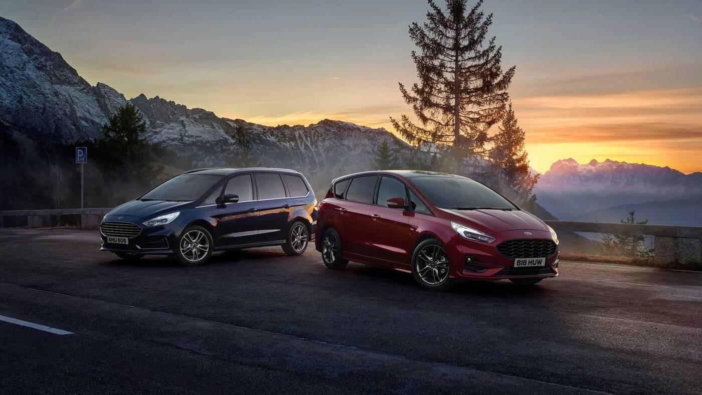 Pierwszy zelektryfikowany Ford S-Max zaliczył premierę z Galaxy Hybrid