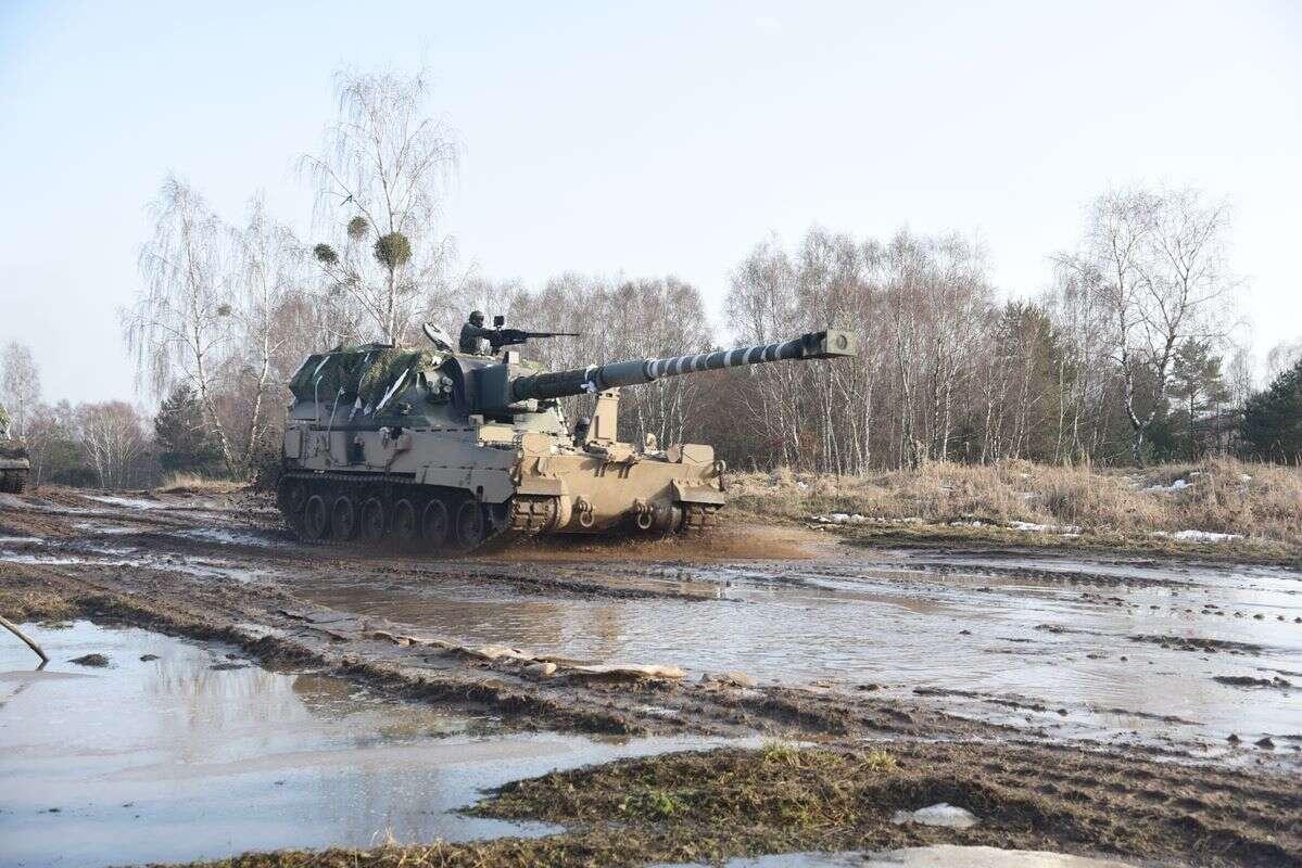 Polscy artylerzyści i saperzy, szkolenia artylerzystów, szkolenia wojska polskiego
