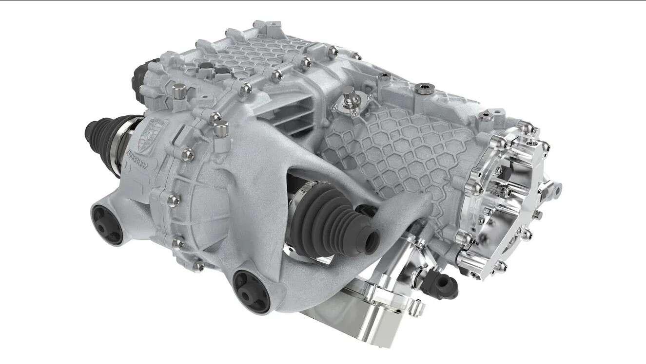 Co zyskuje Porsche, drukując silniki elektryczne?