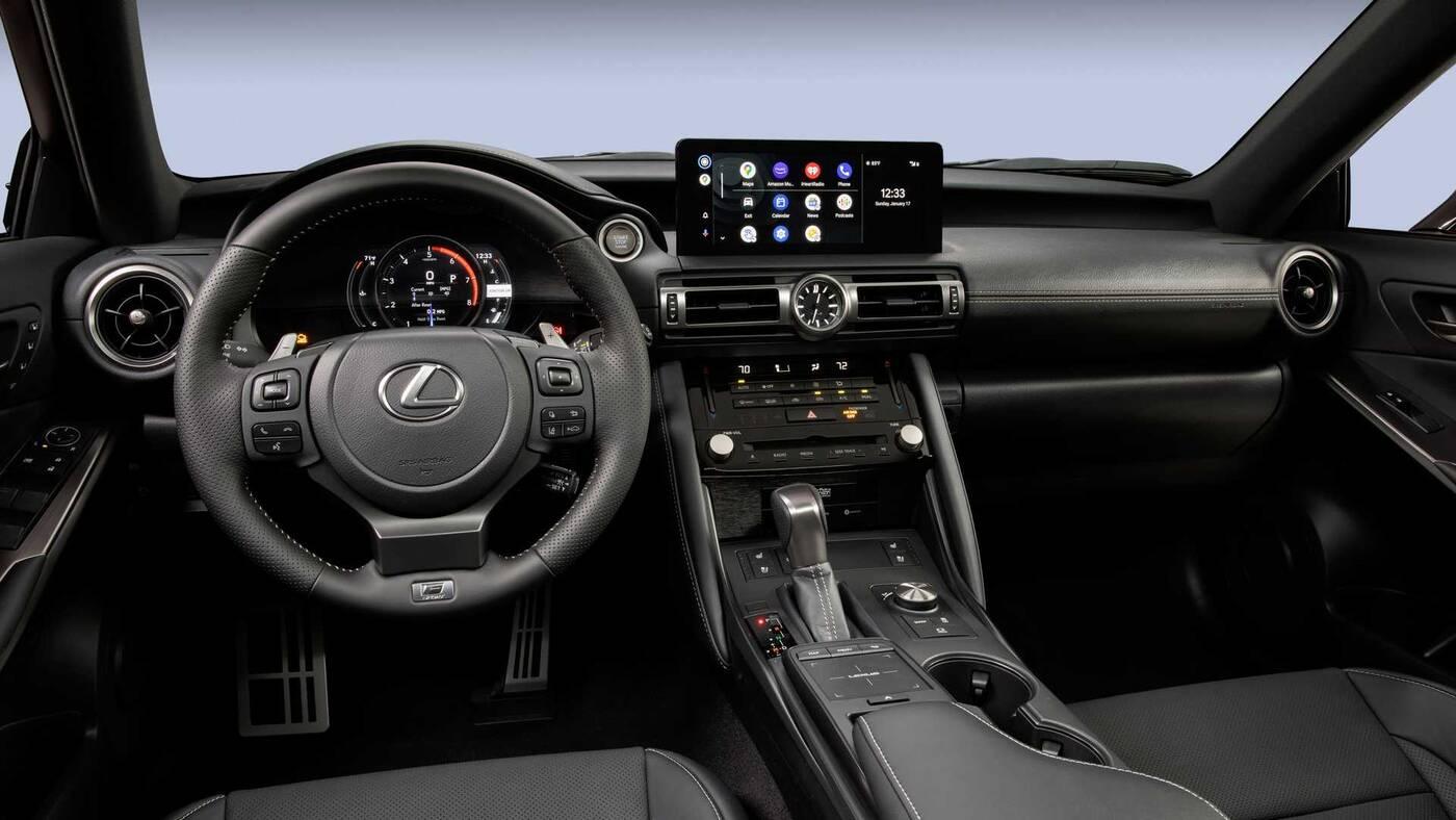 Lexus IS 500 F Sport Performance zadebiutował