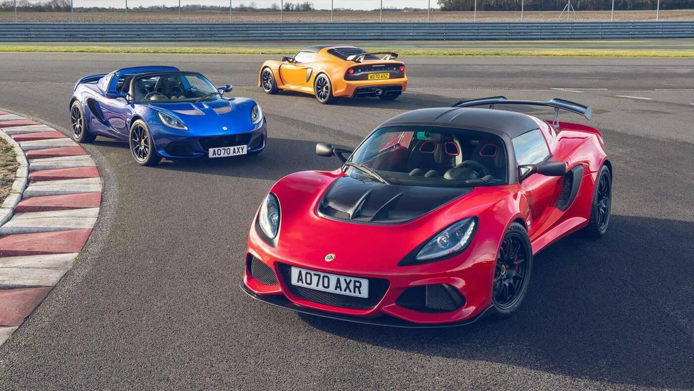 Premiera Lotus Elise i Exige Final Edition przed nieuchronnymi cięciami