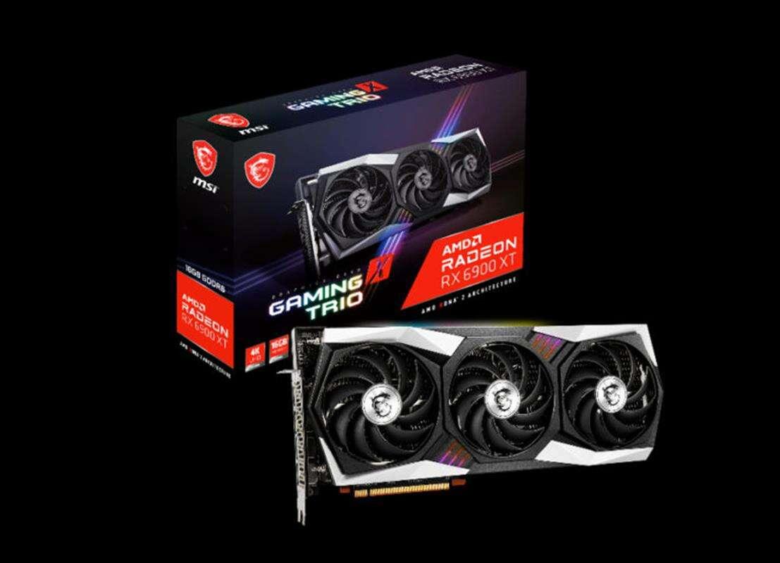 Premiera MSI Radeon RX 6900 XT Gaming Trio