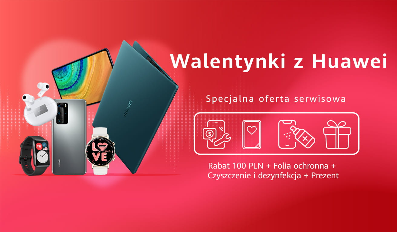 promocja Huawei- Huawei,