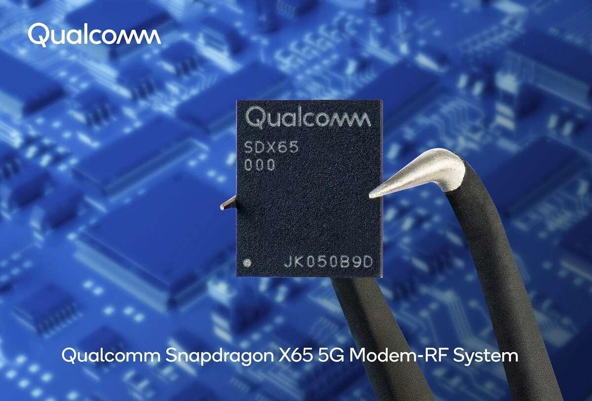 Snapdragon X65 modem 5G