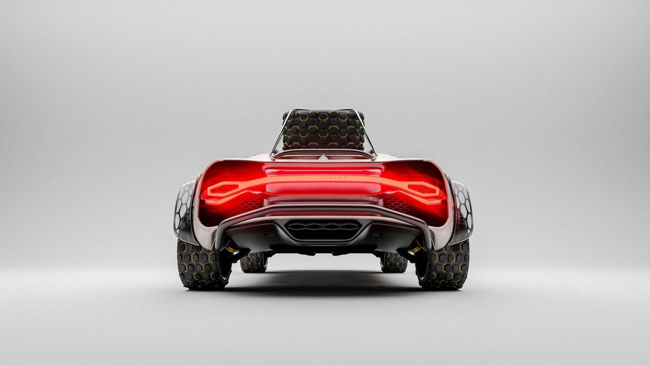 Render Bugatti Chiron Terracross. Co powiecie na taką terenową bestię?