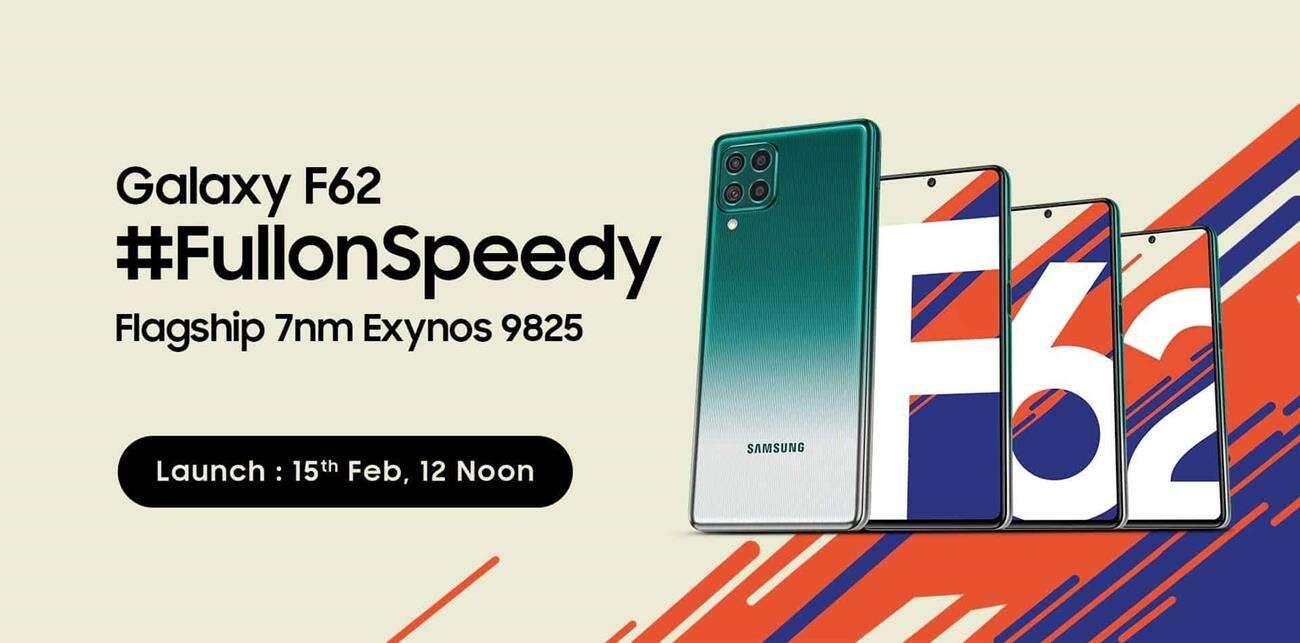 premiera Samsung Galaxy F62