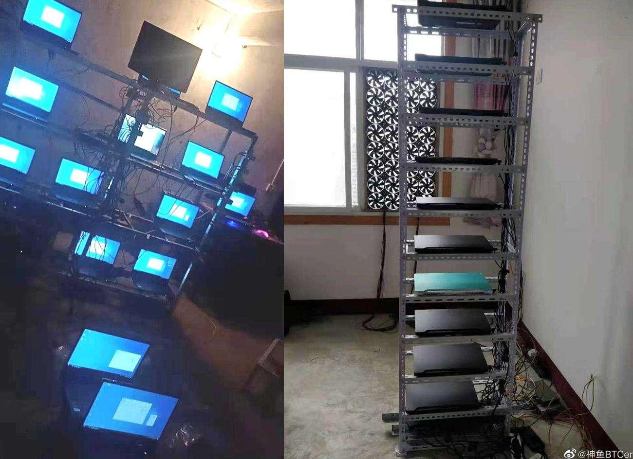 laptopy z rtx 3000 w kopalniach