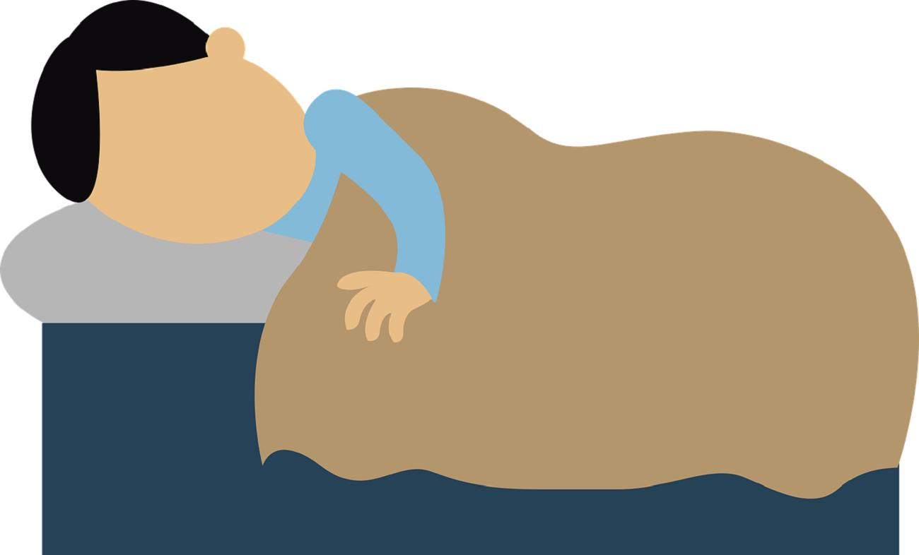 Dlaczego oddech w czasie snu jest głośniejszy?