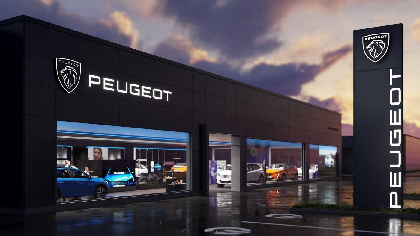 nowe logo Peugeota