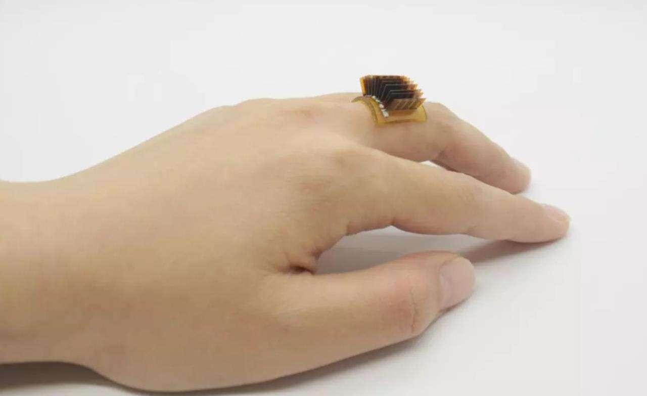 Termoelektryczny pierścień, czyli ludzkie ciało jako bateria