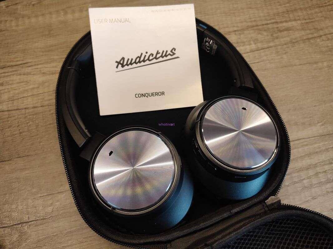 Test bezprzewodowych Audictus Conqueror, słuchawek Audictus Conqueror, Audictus Conqueror, test Audictus Conqueror
