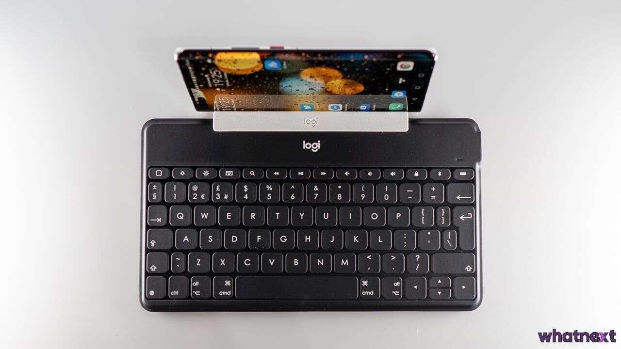 Test Logitech Keys To Go, klawiatura do smartfona na Bluetooth, klawiatura do smartfona, Logitech Keys To Go, Keys To Go